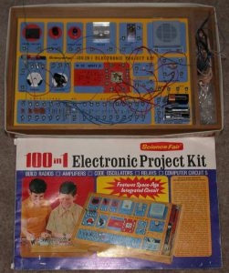 Science Fair 100 in 1 Electronic Project Kit