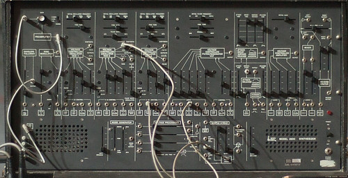 Early Modular Synthesizer - ARP 2600 Panel